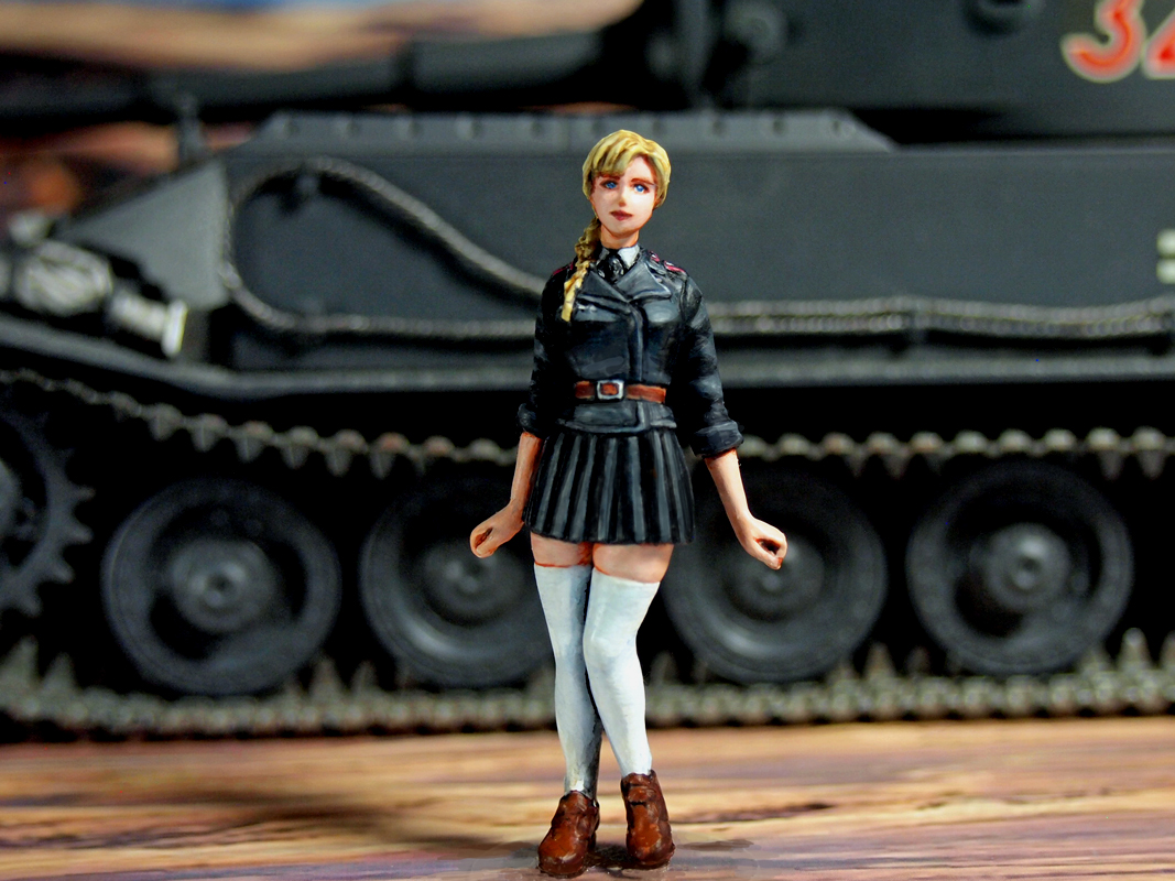 Aurora Model ML-077 German Tank Crew 1/35
