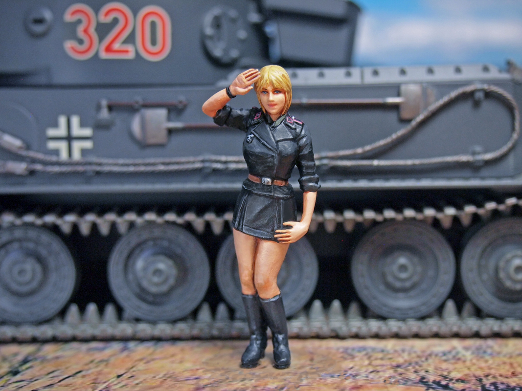 Aurora Model ML-079 German Tank Crew 1/35