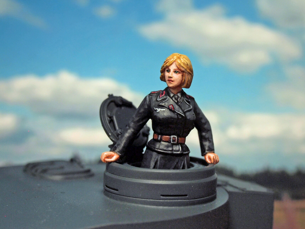 Aurora Model ML-081 German Tank Crew 1/35