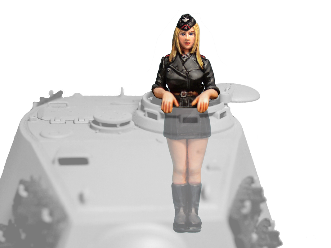 Aurora Model ML-082 German Tank Crew 1/35