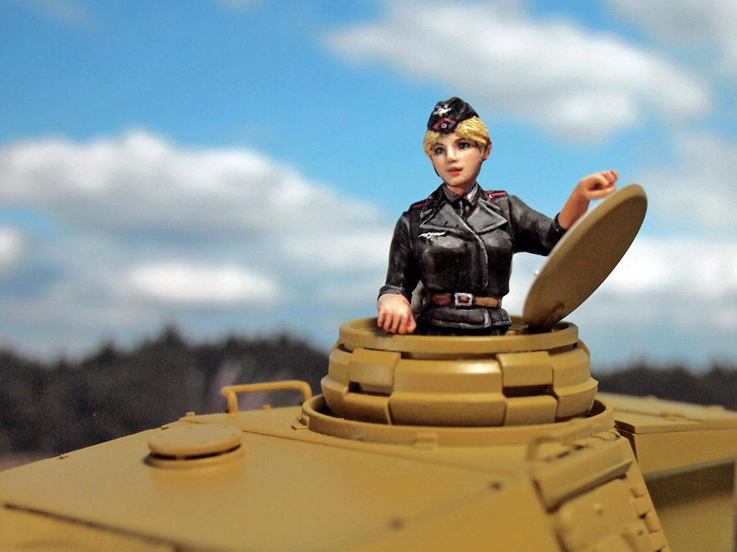 Aurora Model ML-083 German Tank Crew 1/35