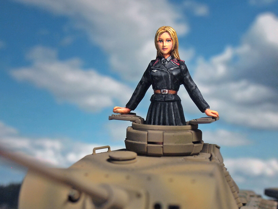 Aurora Model ML-084 German Tank Crew 1/35