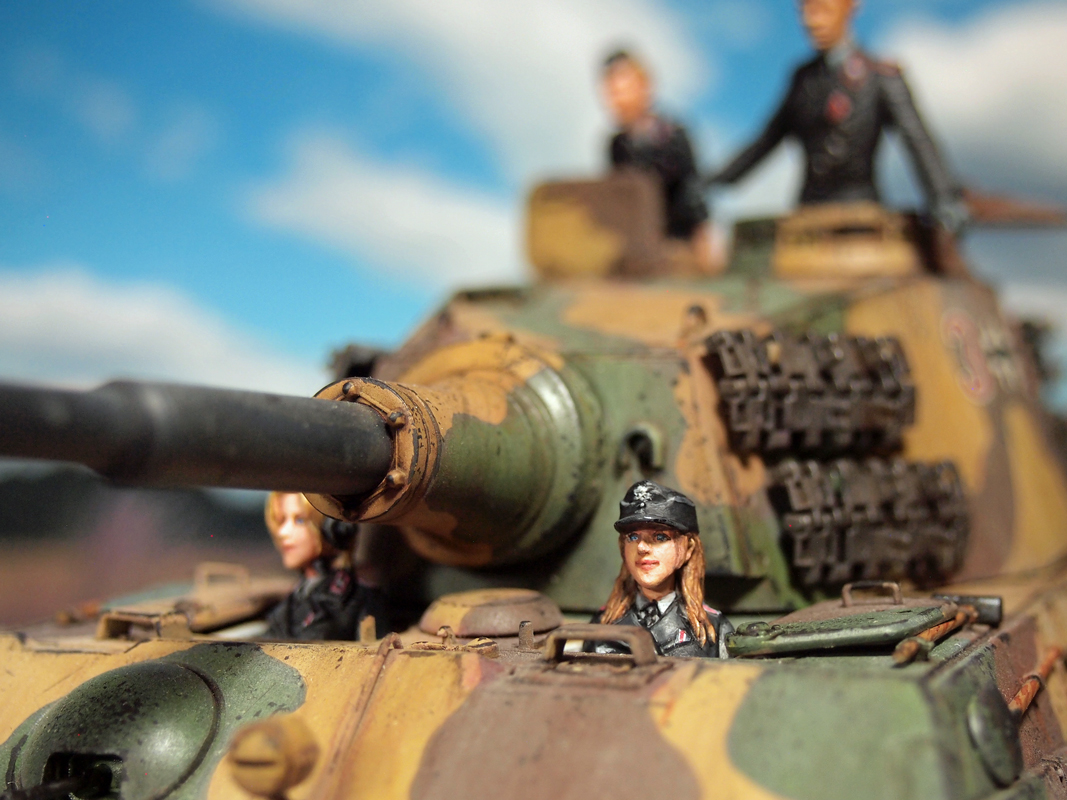 Aurora Model ML-085 German Tank Crew 1/35