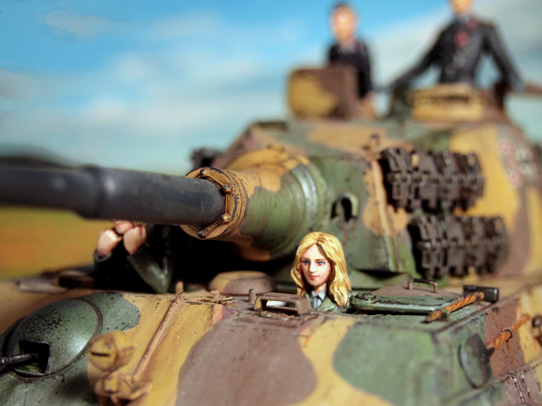 Aurora Model ML-087 German Tank Crew