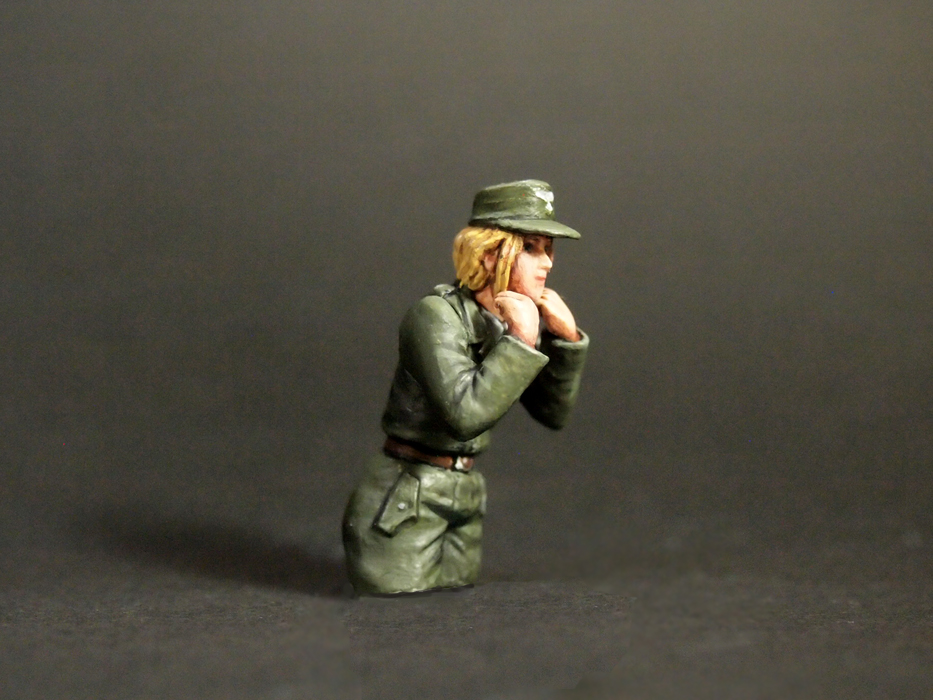 Aurora Model ML-088 German Tank Crew
